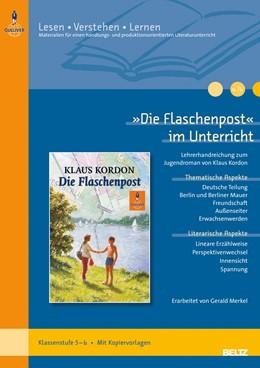 Abbildung von Merkel | »Die Flaschenpost« im Unterricht | 2011 | Lehrerhandreichung zum Jugendr...