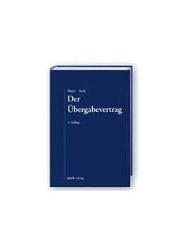 Abbildung von Mayer / Geck   Der Übergabevertrag   3. Auflage   2013