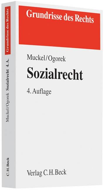 Sozialrecht | Muckel / Ogorek | 4., neu bearbeitete Auflage, 2011 | Buch (Cover)
