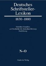 Deutsches Schriftstellerlexikon 1830-1880. Goedekes Grundriss zur Geschichte der deutschen Dichtung - Fortführung | Lindenberg, 2011 | Buch (Cover)