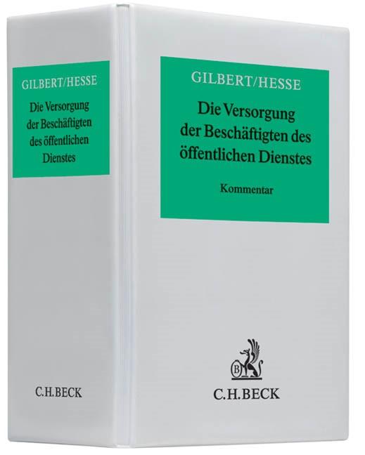 Die Versorgung der Beschäftigten des öffentlichen Dienstes | Gilbert / Hesse | 55. Auflage (Cover)