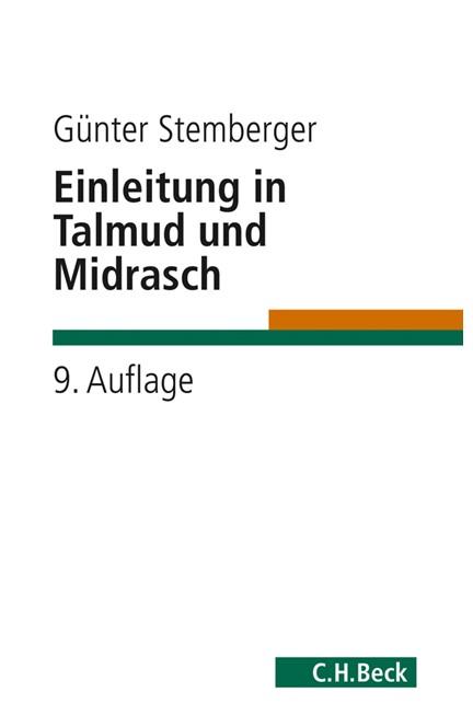 Cover: Günter Stemberger, Einleitung in Talmud und Midrasch