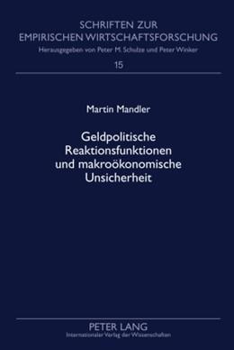 Abbildung von Mandler | Geldpolitische Reaktionsfunktionen und makroökonomische Unsicherheit | 2009 | 15