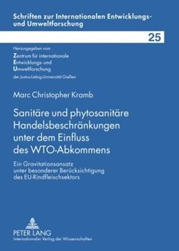 Abbildung von Kramb | Sanitäre und phytosanitäre Handelsbeschränkungen unter dem Einfluss des WTO-Abkommens | 2009 | Ein Gravitationsansatz unter b... | 25