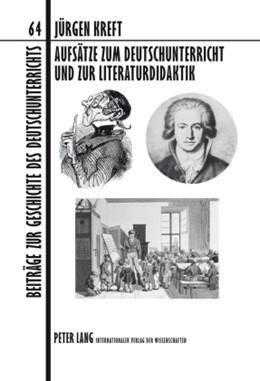 Abbildung von Kreft | Aufsätze zum Deutschunterricht und zur Literaturdidaktik | 2009 | 64