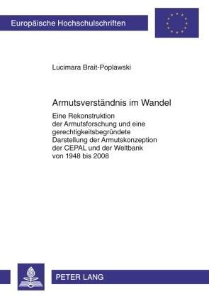 Armutsverständnis im Wandel | Brait-Poplawski, 2009 | Buch (Cover)