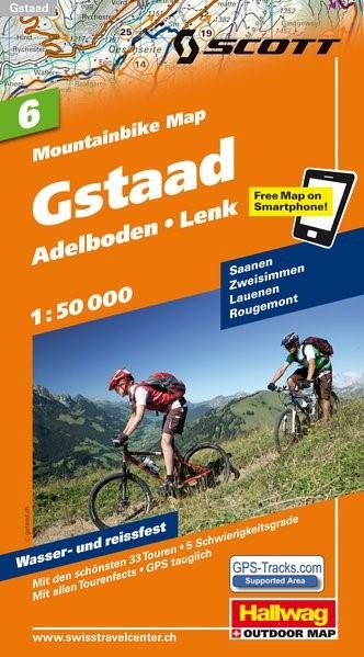 MTB-Karte 06 Gstaad 1:50.000   1. Auflage, 2011 (Cover)