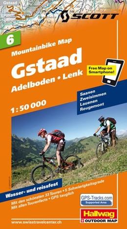 Abbildung von MTB-Karte 06 Gstaad 1:50.000 | 1. Auflage | 2011 | Mountainbike Map