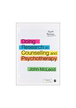 Abbildung von McLeod | Doing Research in Counselling and Psychotherapy | Third Edition | 2014