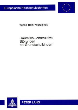 Abbildung von Bein-Wierzbinski | Räumlich-konstruktive Störungen bei Grundschulkindern | REV | 2005