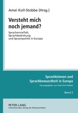 Abbildung von Koll-Stobbe | Versteht mich noch jemand? | 2009 | Sprachenvielfalt, Sprachbedroh... | 2