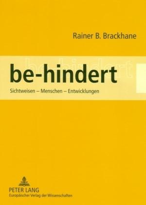 be-hindert | Brackhane, 2007 | Buch (Cover)