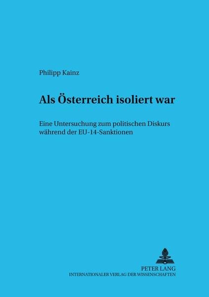 Als Österreich isoliert war | Kainz, 2006 | Buch (Cover)