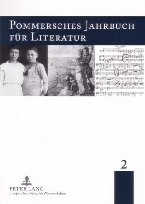 Pommersches Jahrbuch für Literatur 2 | Borchardt / Watrak / Gratz, 2006 | Buch (Cover)
