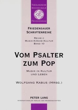 Vom Psalter zum Pop | Kabus, 2007 | Buch (Cover)