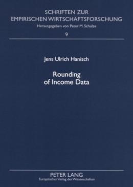 Abbildung von Hanisch | Rounding of Income Data | 2007 | An Empirical Analysis of the Q... | 9