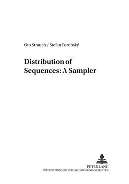 Abbildung von Porubský / Strauch | Distribution of Sequences: A Sampler | 2005 | 1