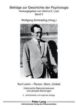 Abbildung von Schönpflug | Kurt Lewin - Person, Werk, Umfeld | ENL | 2007 | Historische Rekonstruktionen u... | 5