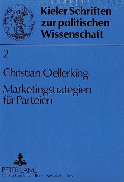 Marketingstrategien für Parteien | Oellerking, 1988 | Buch (Cover)