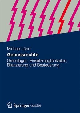 Abbildung von Lühn | Genussrechte | 1. Auflage | 2013 | beck-shop.de