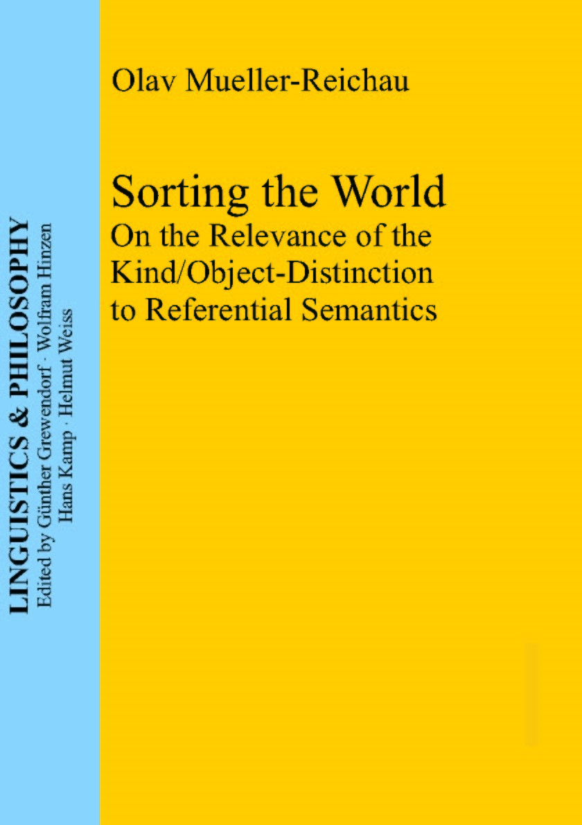 Sorting the World | Mueller-Reichau, 2011 | Buch (Cover)