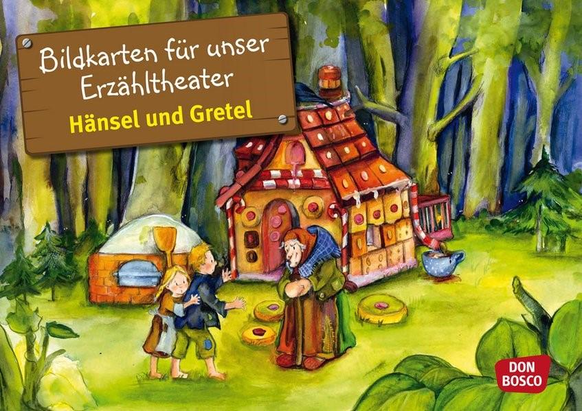 Abbildung von Bildkarten für unser Erzähltheater: Hänsel und Gretel | 2011