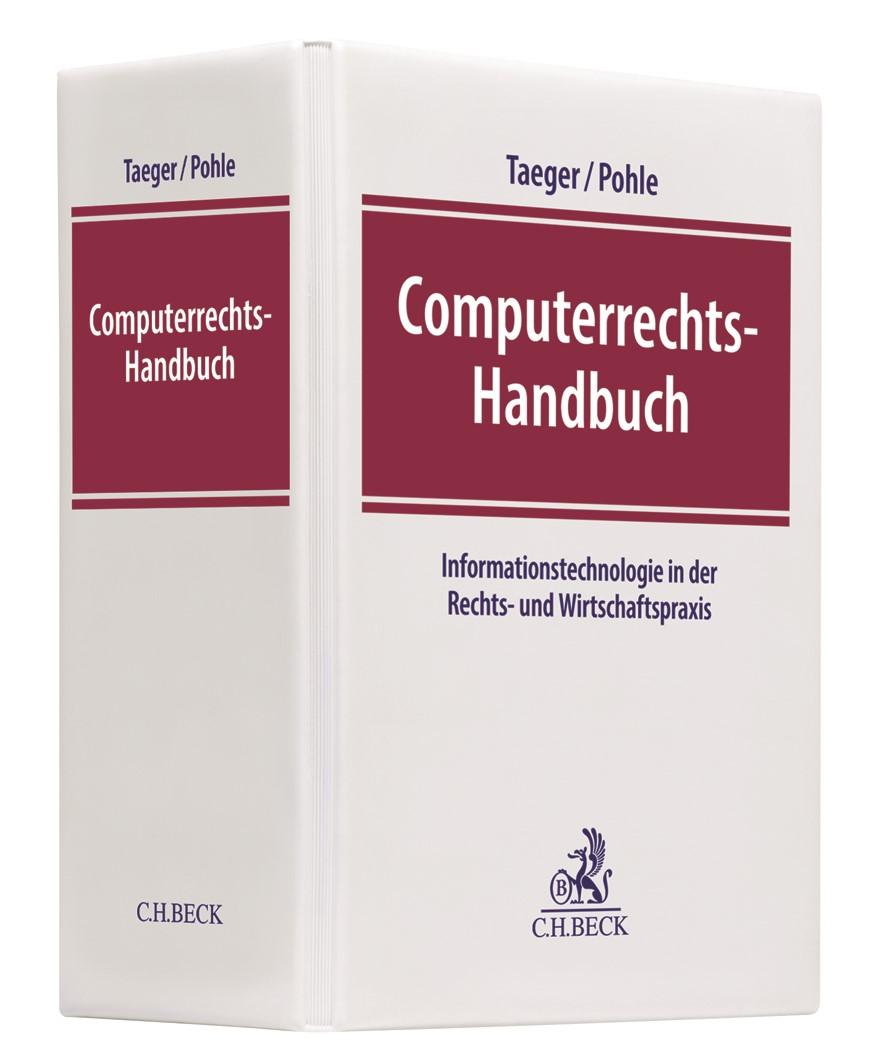 Computerrechts-Handbuch | Kilian / Heussen | 34. Auflage (Cover)