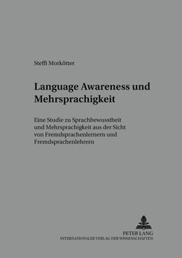 Abbildung von Morkötter   Language Awareness und Mehrsprachigkeit   2005   Eine Studie zu Sprachbewussthe...   21