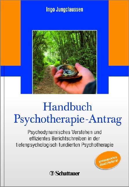 Handbuch Psychotherapie-Antrag   Jungclaussen   Buch (Cover)