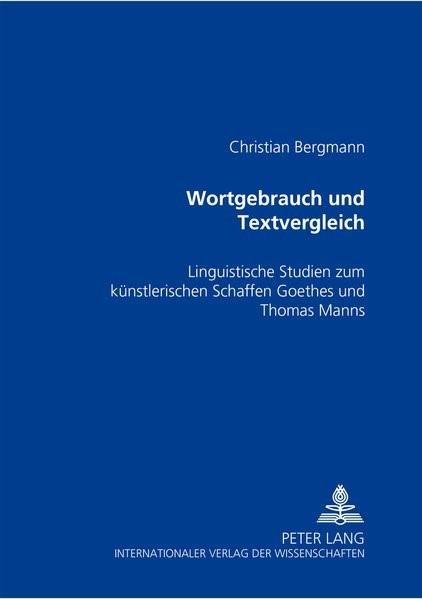 Abbildung von Bergmann | Wortgebrauch und Textvergleich | 2005
