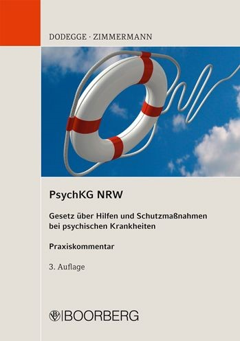 PsychKG NRW | Dodegge / Zimmermann | 3., neubearbeitete Auflage, 2011 | Buch (Cover)
