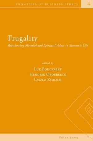 Frugality | Bouckaert / Zsolnai / Opdebeeck, 2008 | Buch (Cover)