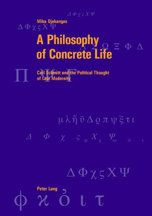 A Philosophy of Concrete Life | Ojakangas | REV, 2006 | Buch (Cover)