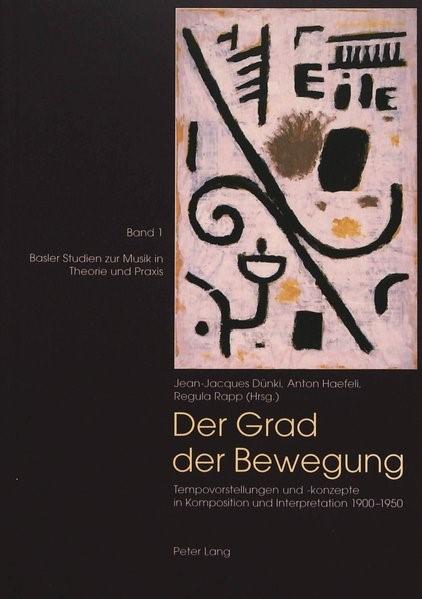 Der Grad der Bewegung | Dünki / Rapp / Haefeli, 1999 (Cover)