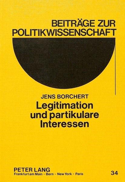 Legitimation und partikulare Interessen | Borchert, 1987 | Buch (Cover)