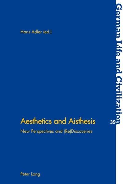 Aesthetics and Aisthesis | Adler, 2002 | Buch (Cover)