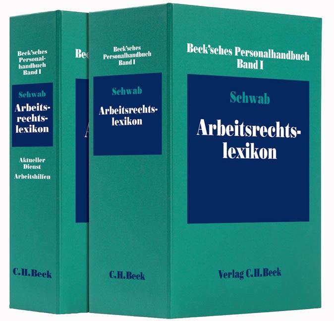 Beck'sches Personalhandbuch Bd. I: Arbeitsrechtslexikon (Cover)