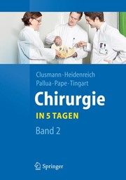 Chirurgie... in 5 Tagen | Clusmann / Heidenreich / Pallua, 2011 | Buch (Cover)