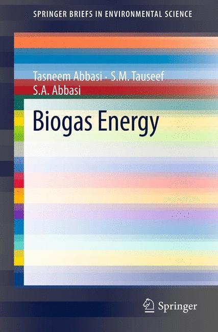 Abbildung von Abbasi / Tauseef | Biogas Energy | 2011