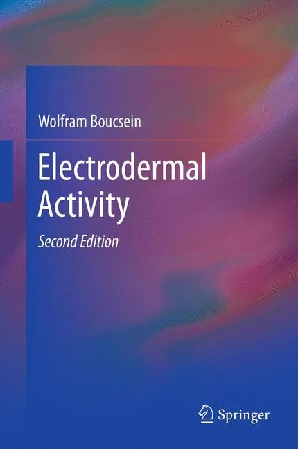 Electrodermal Activity | Boucsein, 2011 | Buch (Cover)
