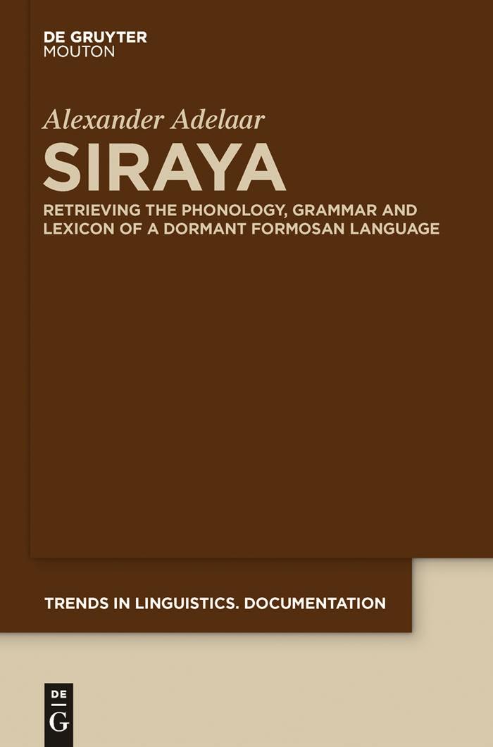 Siraya | Adelaar, 2011 | Buch (Cover)
