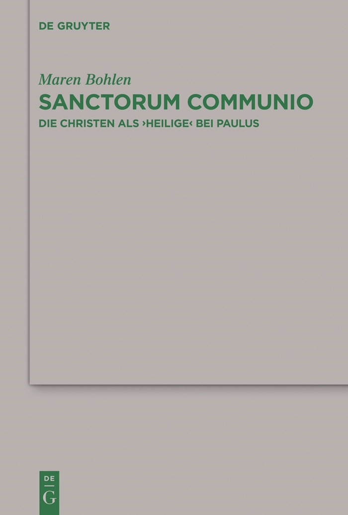 Abbildung von Bohlen   Sanctorum Communio   2011