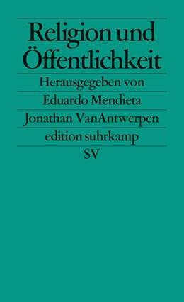 Abbildung von Mendieta / VanAntwerpen | Religion und Öffentlichkeit | Deutsche Erstausgabe | 2012 | 2641