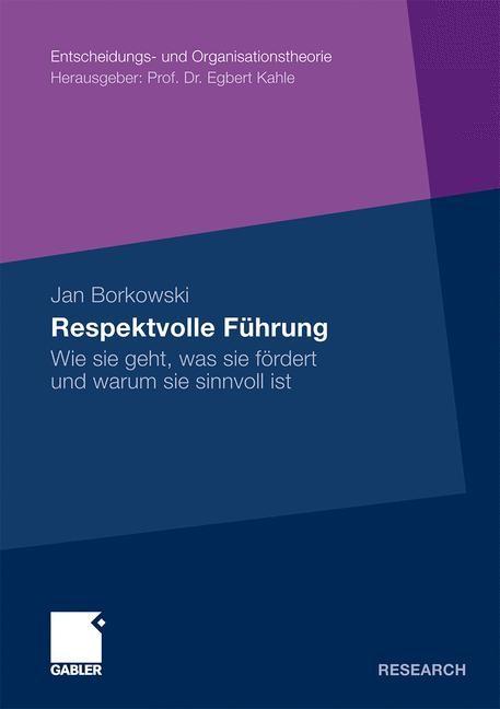Respektvolle Führung | Borkowski | Mit einem Geleitwort von Prof. Dr. Egbert Kahle, 2011 | Buch (Cover)