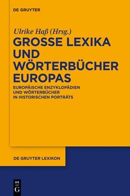 Abbildung von Haß   Große Lexika und Wörterbücher Europas   2011   Europäische Enzyklopädien und ...
