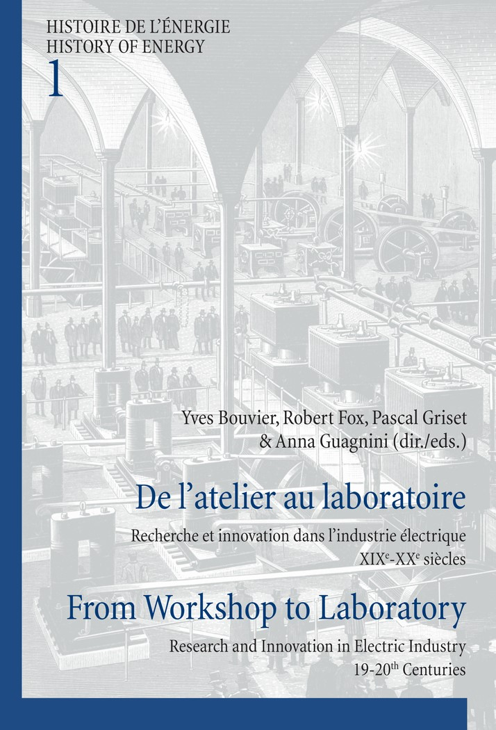 De l'atelier au laboratoire / From Workshop to Laboratory | Bouvier / Guagnini / Griset / Fox, 2011 | Buch (Cover)