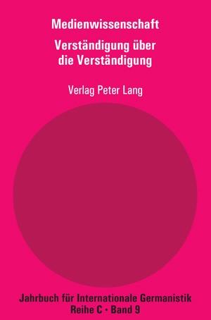 Medienwissenschaft | Dreyer / Matzker, 2008 | Buch (Cover)