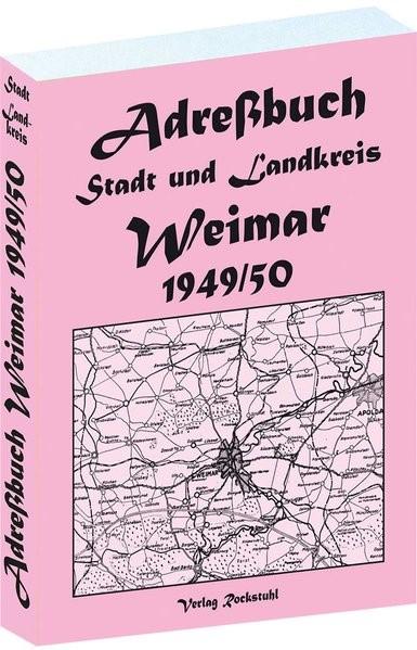 Abbildung von Adreßbuch für Stadt und Landkreis Weimar 1949 | 2011