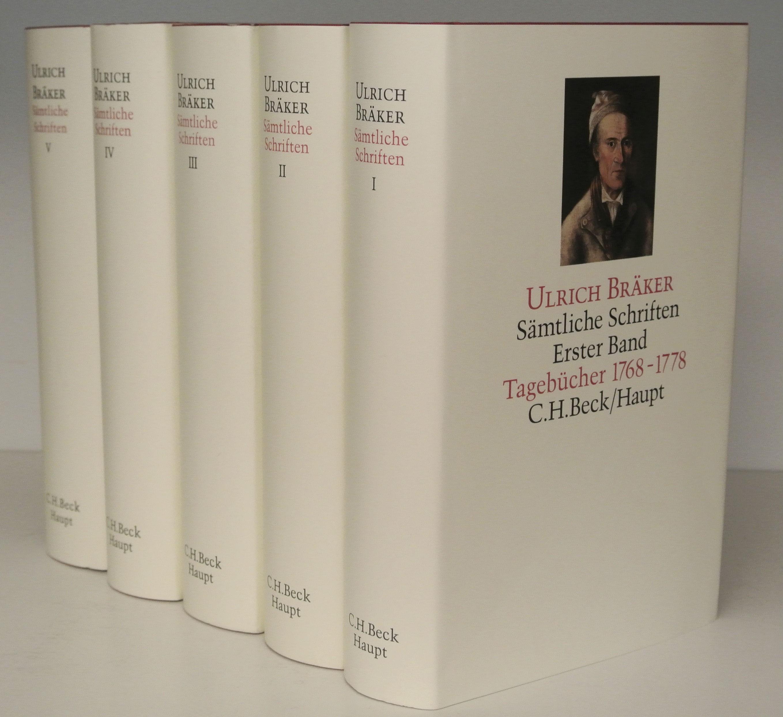 Sämtliche Schriften | Bräker, Ulrich, 2014 | Buch (Cover)
