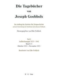 Oktober 1923 - November 1925, 2003 | Buch (Cover)